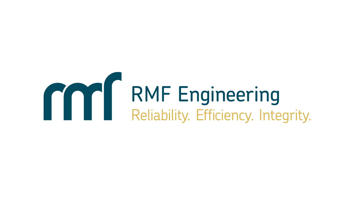 RMF Engineering logo on a white background.