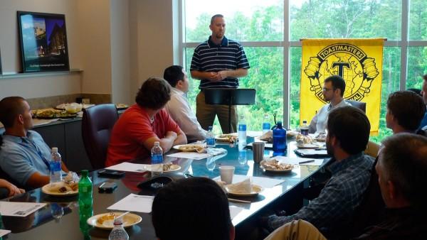 RMF Hosting Toastmasters Meeting in Raleigh