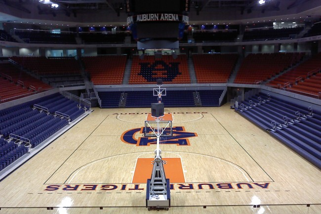Auburn Commissioning of New Basketball Arena