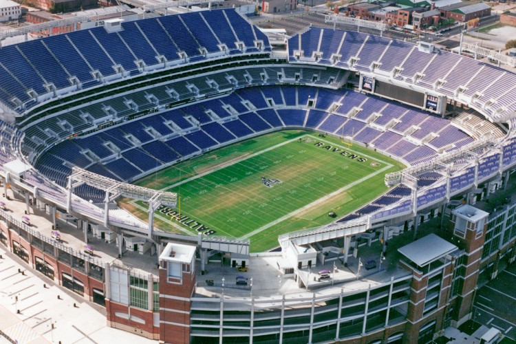 Sports & Recreation Project - M&T Bank - Baltimore Ravens Stadium
