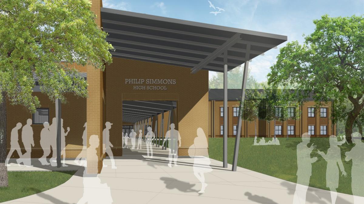 New Philip Simmons High School - Image 1