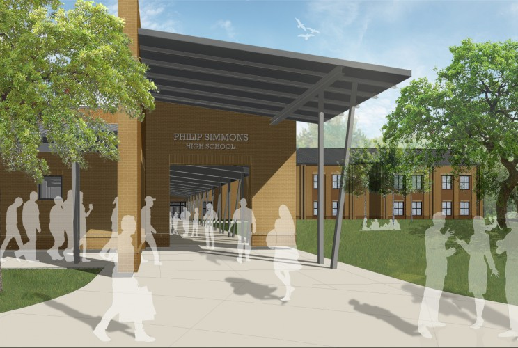 K-12 Schools Project - New Philip Simmons High School