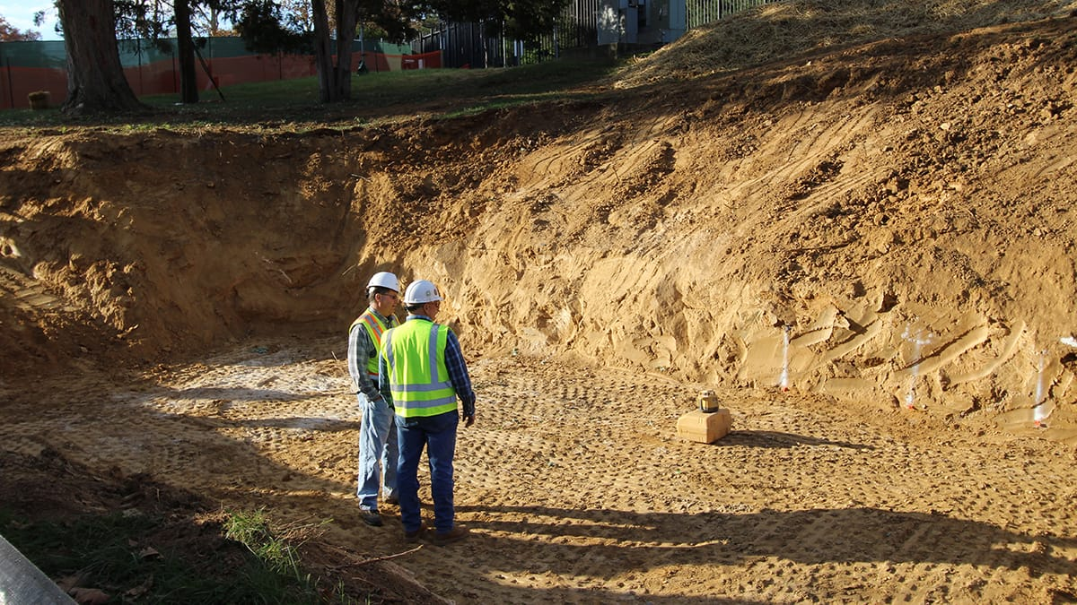 RMF Engineer inspects job site - Image 2