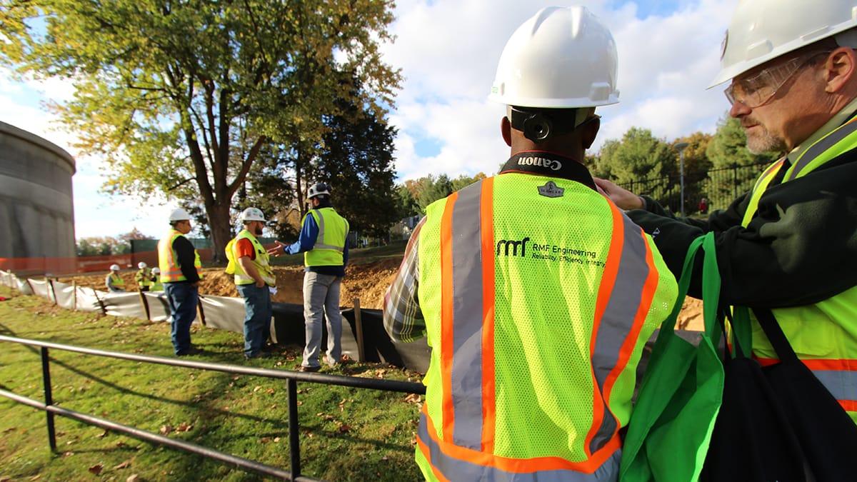 RMF Engineer preparing job site - Image 3