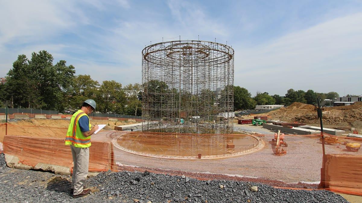 RMF Engineer inspects job site - Image 1