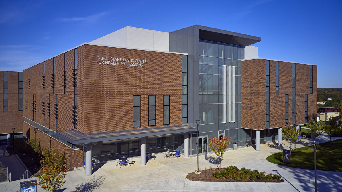 New Carol D. Eustis Center for Health Professions Building - Image 1