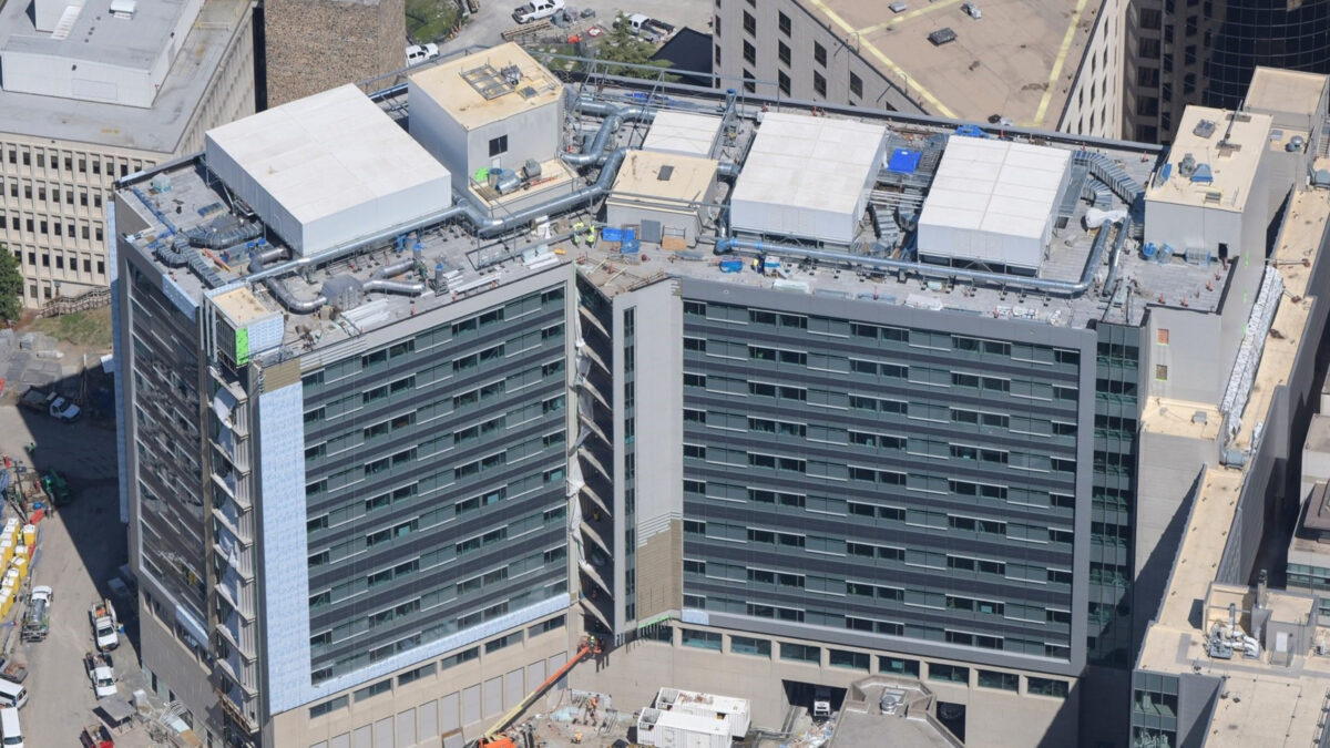 Duke University Medical Center Bed Tower Addition - Image 1