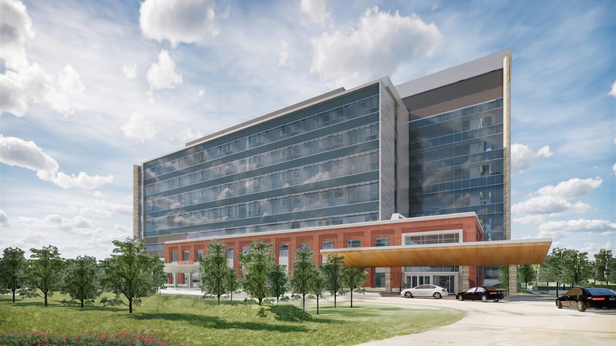 New Holly Springs Hospital and Central Energy Plant - Image 1