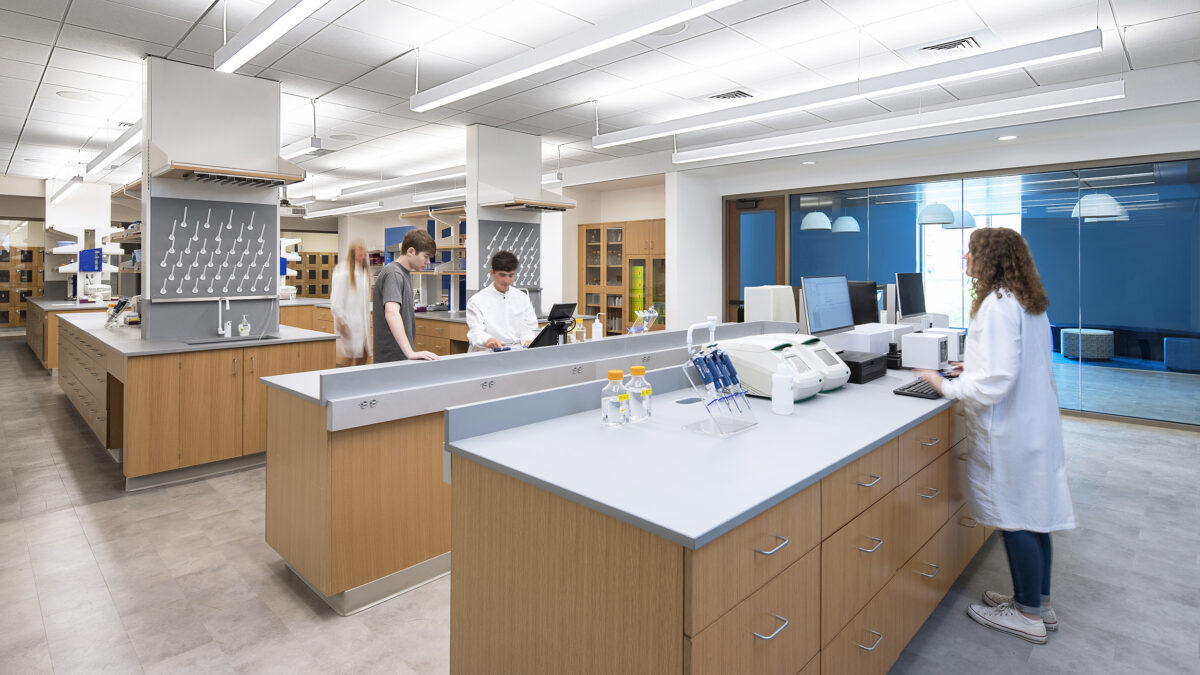 Chemistry Teaching Lab (Old Law School Conversion) - Image 2
