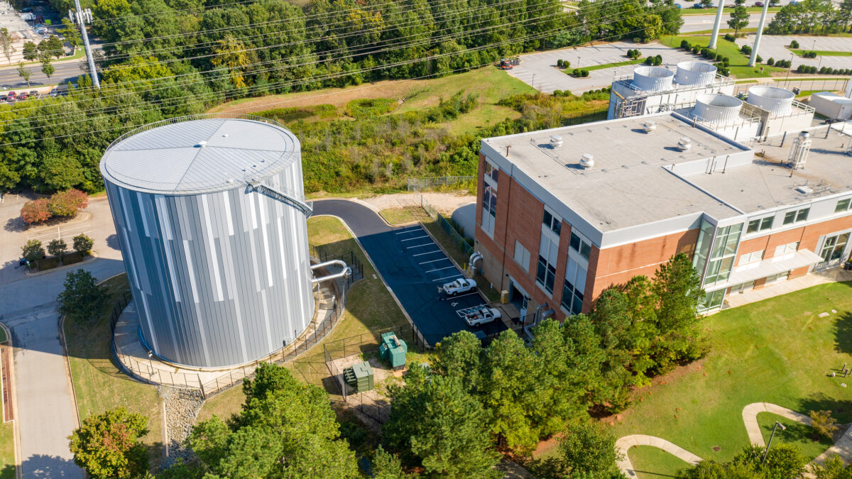 Centennial Campus Thermal Energy Storage Tank - Image 1