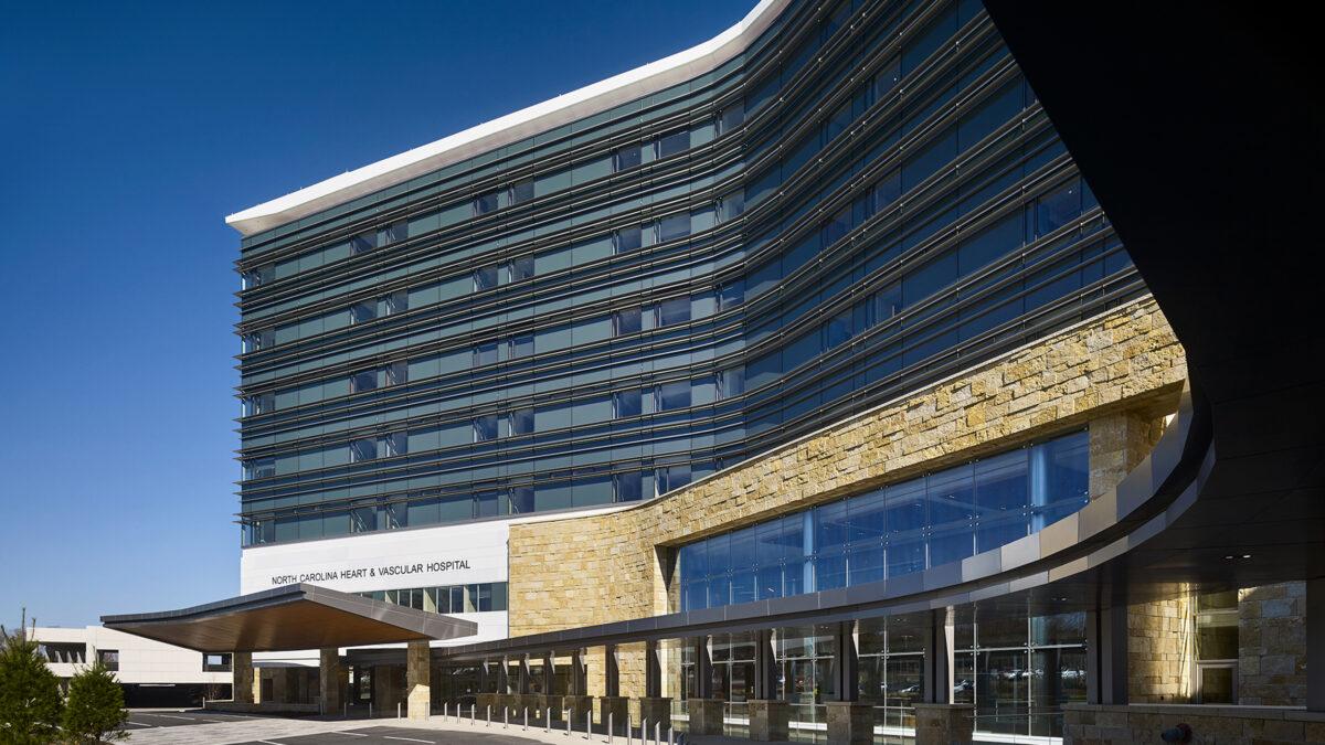 UNC Rex Hospital Heart & Vascular Center - Image 1